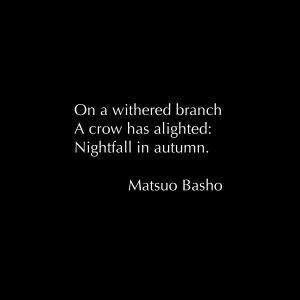 Matsuo Basho Haiku